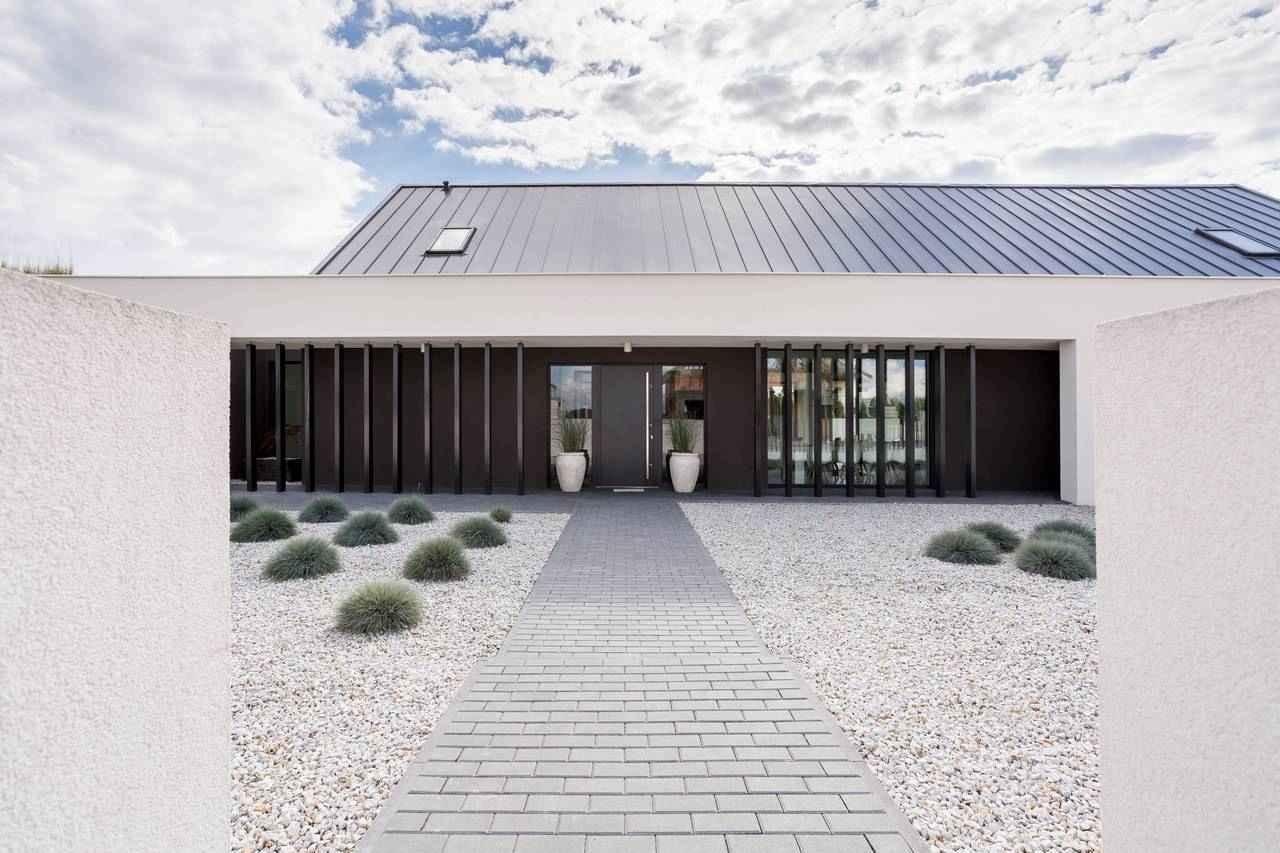 Combinatie hellend en plak dak